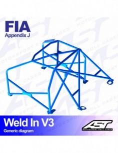 Adaptador lateral Race Sport de 1 agujero