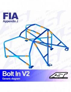 Adaptador para el tablier Race Sport de 2 agujeros
