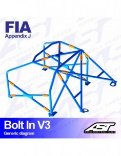 Adaptador para el tablier Race Sport de 3 agujeros