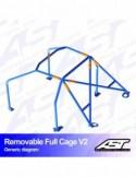 Kit de muelles ST Suspensions Alfa Romeo 147 01-10 (40/30)