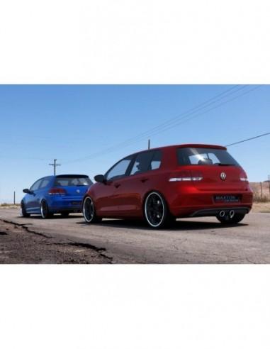 Difusor trasero VW Golf V R32 Look...